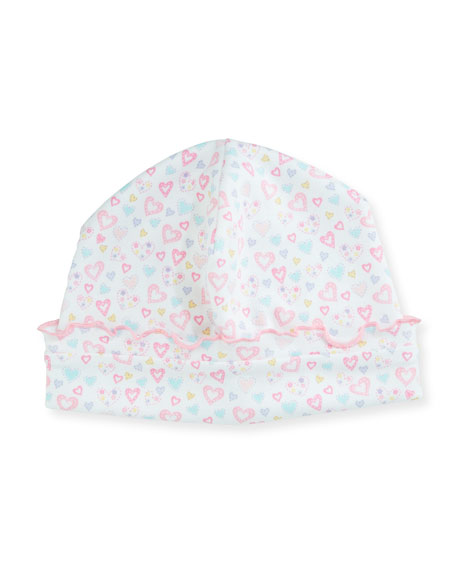 Dina Darlings Ruffle Pima Baby Hat