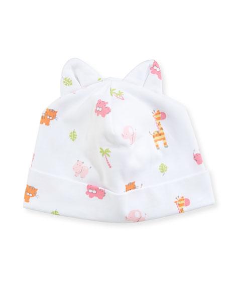 Kissy Kissy Safari Stroll Pima Baby Hat w/
