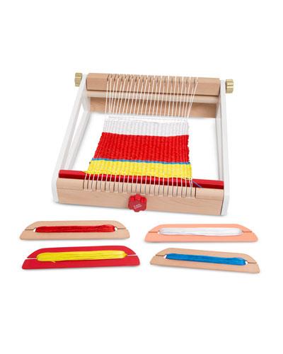 8-Piece Kids' Multi Craft Weaving Loom