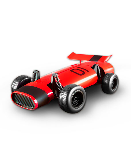 FAO Schwarz RC Classic Racer Toy