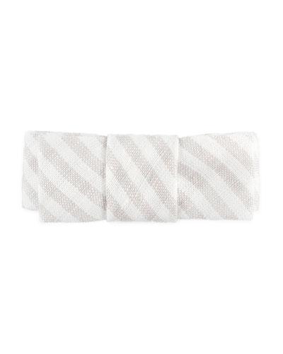 Girls' Stripe Cotton Hair Clip