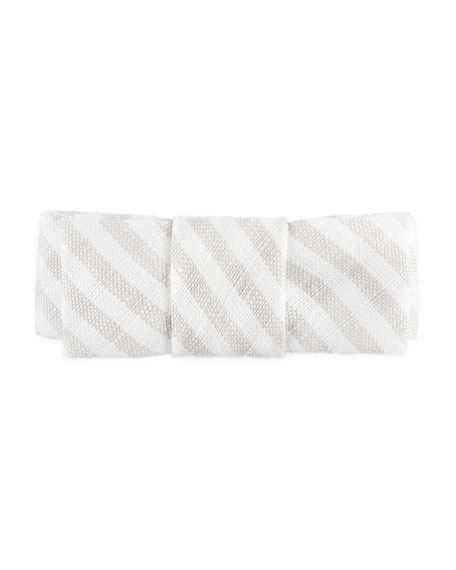 Girls' Stripe Cotton Hair Clip