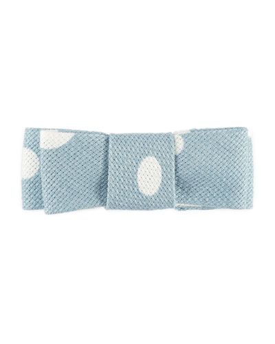 Girls' Polka-Dot Cotton Hair Clip