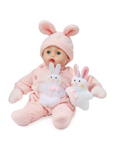 Bunny Huggums Baby Doll