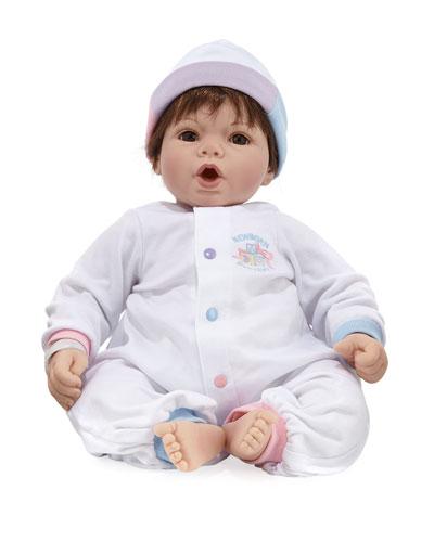 Cuddle Me Brunette Baby Doll