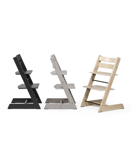 Tripp Trapp® Premium Oak Collection Chair, Gray