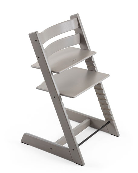 Tripp Trapp® Premium Oak Collection Chair, Gray