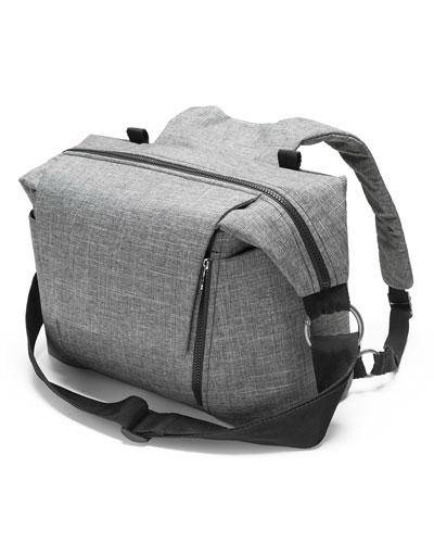 Changing Bag, Black Pattern