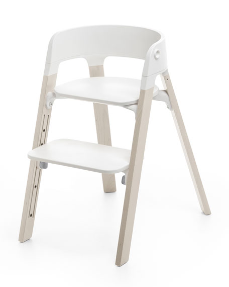 Stokke Steps Complete Chair, White and Matching Items