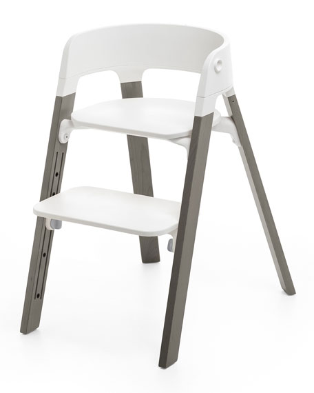 Stokke Steps Complete Chair, Light Gray