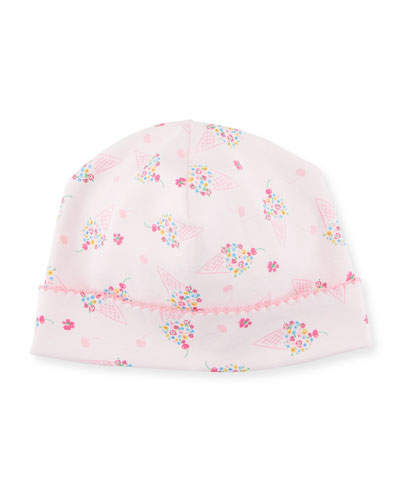 Cherry on Top Pima Baby Hat