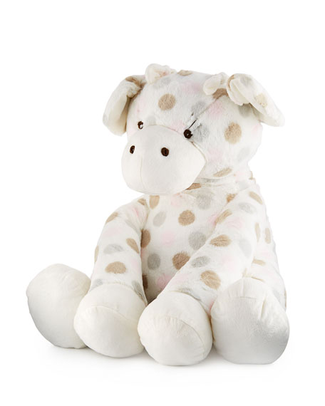 Little Giraffe Big G™ Plush Polka-Dot Giraffe, Pink