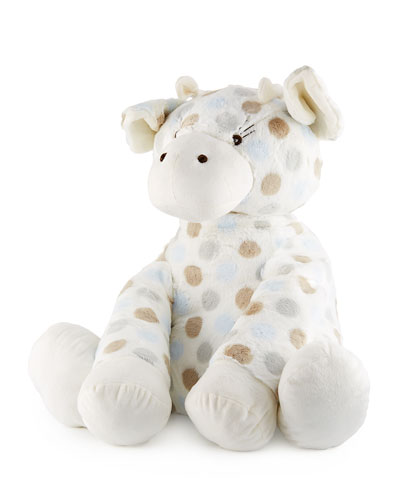 Big G™ Plush Polka-Dot Giraffe  Blue