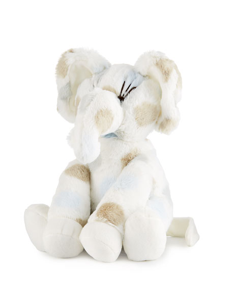 Little E™ Plush Polka-Dot Elephant, Blue
