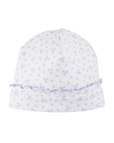 Little Girls Dreams Floral Pima Baby Hat