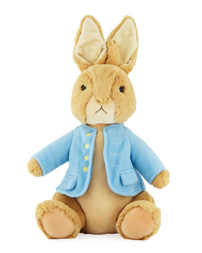 Classic Peter Rabbit Stuffed Animal, 13