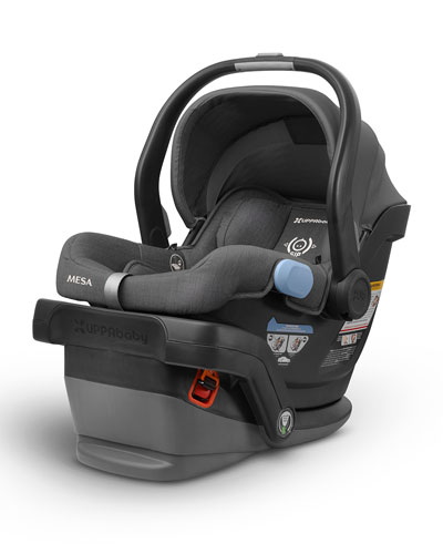 MESA™ Infant Car Seat w/ Base, Jordan (Black)