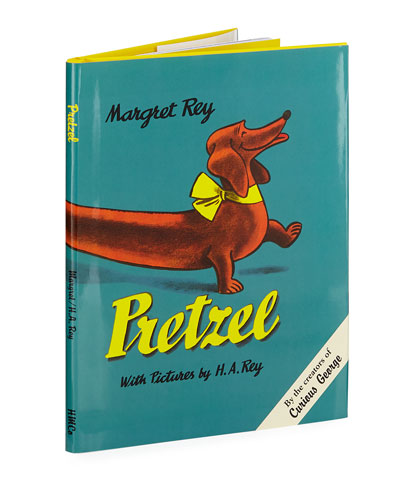Pretzel Hardcover Book