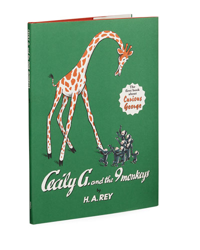 Cecily G. and the Nine Monkeys Hardcover Book by H.A. Rey