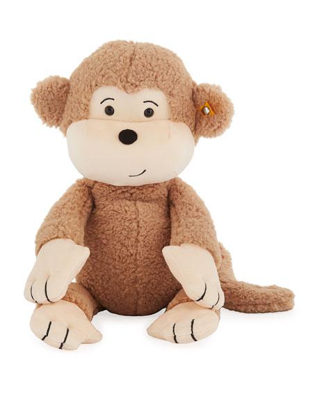 """Brownie Stuffed Animal Monkey, 16"""""""