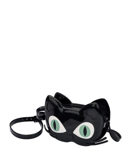 Girls' Mini Cat Jelly Crossbody Bag