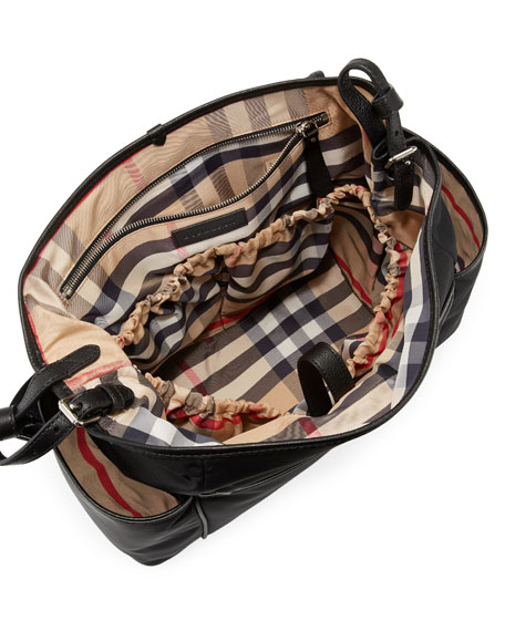 Nylon Flap-Top Diaper Bag