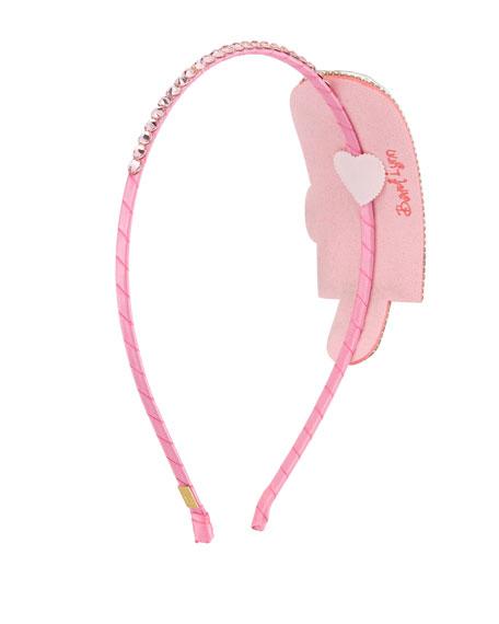 Girls' Crystal Popsicle Headband