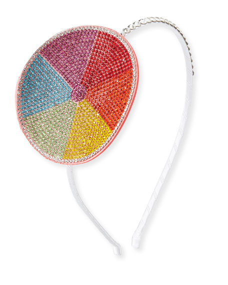 Girls' Crystal Beach Ball Headband