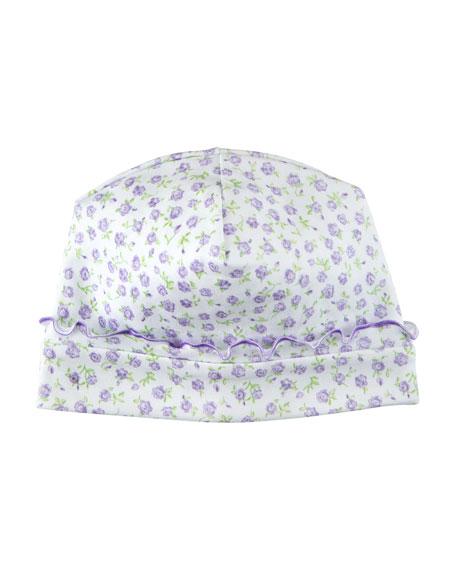 Rambling Roses Pima Baby Hat