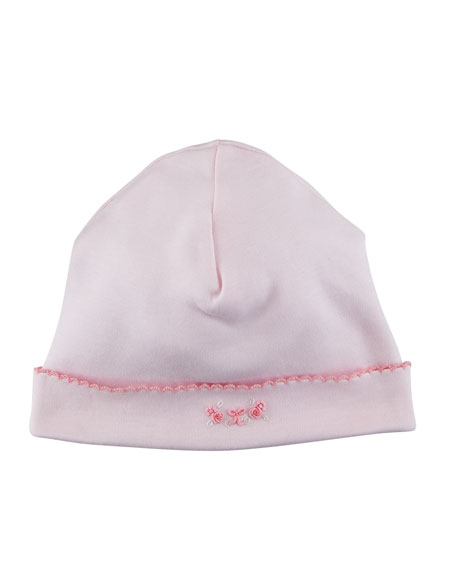 Rosebud Ribbons Baby Hat