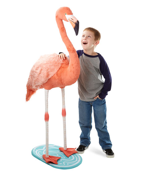Plush Flamingo