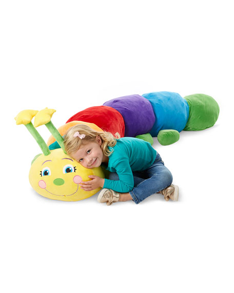Jumbo Plush Rainbow Caterpillar