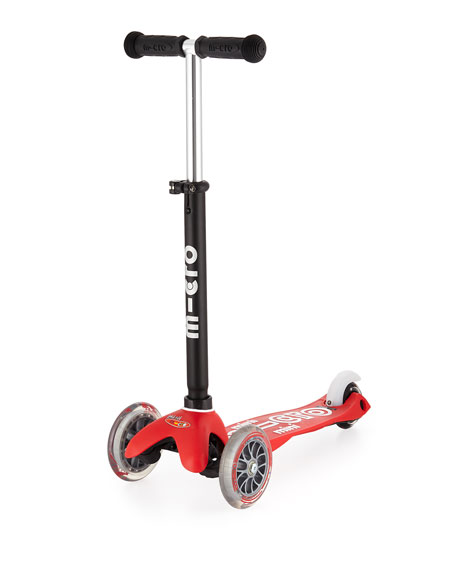 Mini2Go Deluxe Ride-On & Scooter, Red