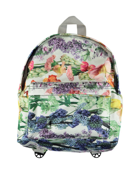 Kids' Floral-Print Backpack