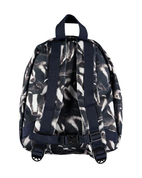 Kids' Badger-Print Backpack