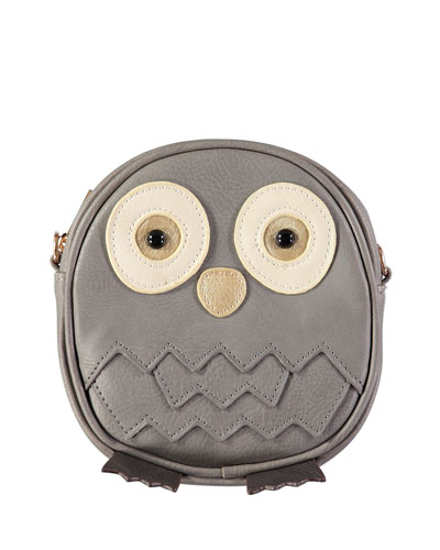 Girls' Owl Crossbody Bag