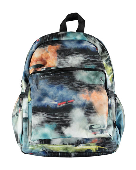 Kids' Cars Smoke Backpack