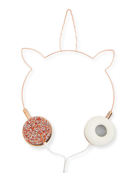 Kids' Unicorn Crystal-Trim Headphones