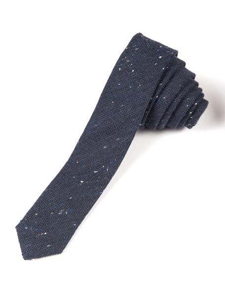 Appaman Kids' Woven Speckled Skinny Tie
