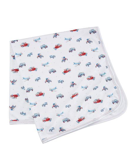 Classics Printed Pima Baby Blanket