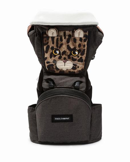 Dolce   Gabbana Leopard-Print Baby Carrier 98775e0abb99c