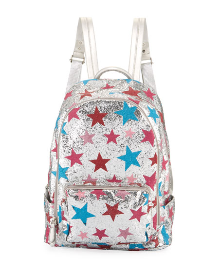 Bari Lynn Girls' Shimmer Star Backpack