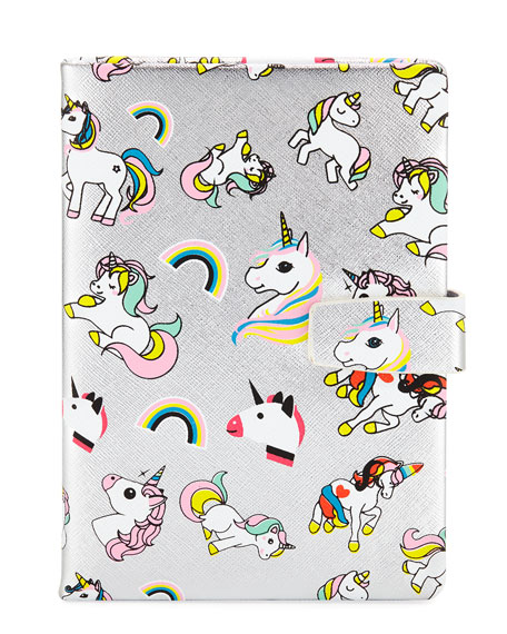 Bari Lynn Girls' Unicorn Notebook