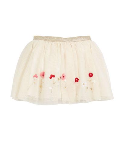 Tulle Polka-Dot Skirt  Size 3-6