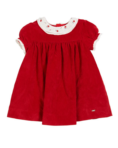 Cap-Sleeve Polka-Dot A-Line Dress  Size 3-24 Months