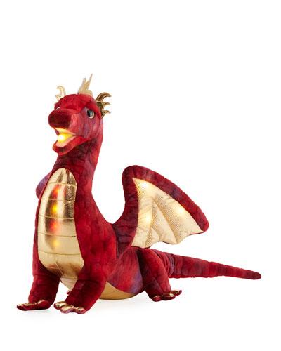 Kazra the Dragon Light-Up Plush Toy