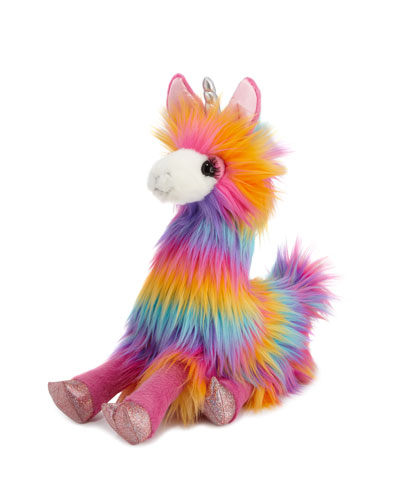 Lollipop the Rainbow Fuzzle Llamacorn Plush Toy