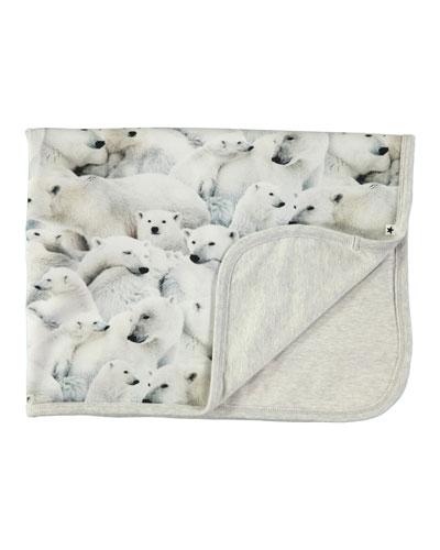 Neala Polar Bear Baby Blanket