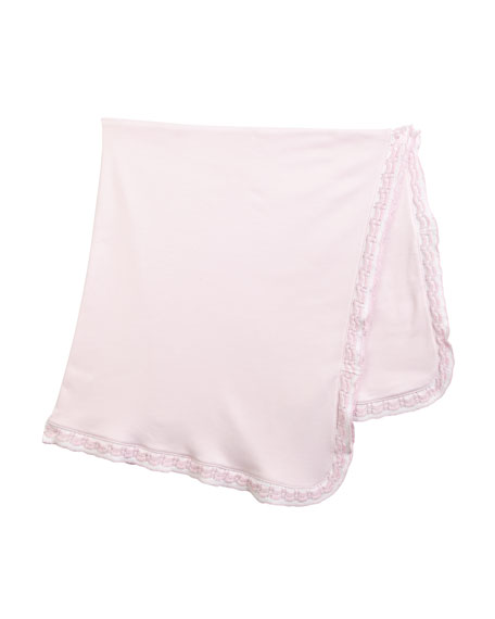 Kissy Kissy Homecoming Pima Baby Blanket
