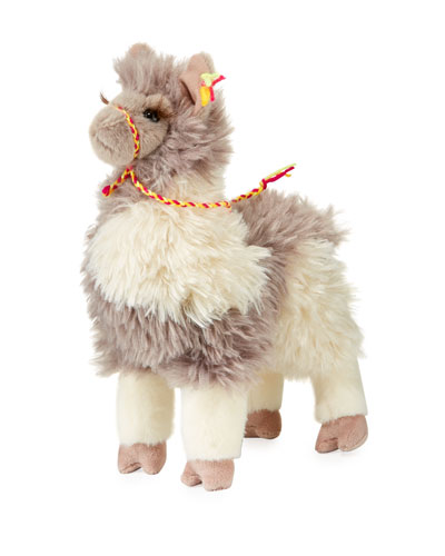 Zephyr Plush Standing Llama